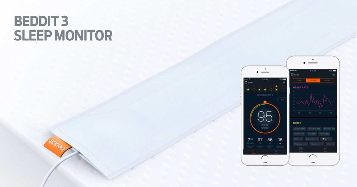 Beddit 3 Sensor and iPhone Apps