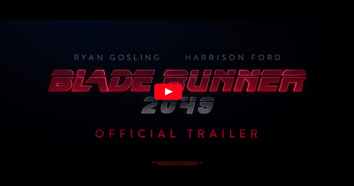 Title Screen from Bladerunner 2049 trailer
