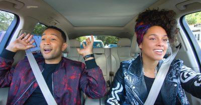 John Legend and Alicia Keys in Carpool Karaoke
