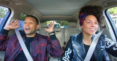 John Legend and Alicia Keys in Carpool Karaoke
