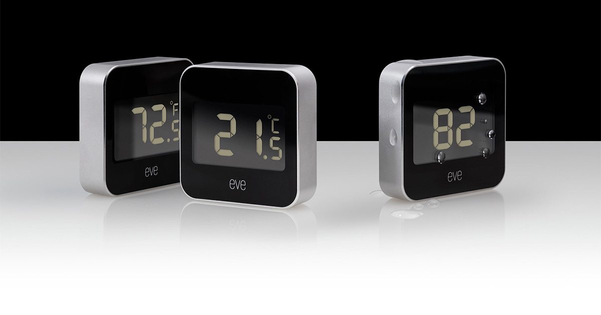 Elgato Eve Degree temperature and humidity HomeKit sensor