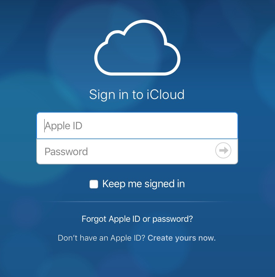 Log in to iCloud in a Web browser to upload files to your iCloud drive from any computer