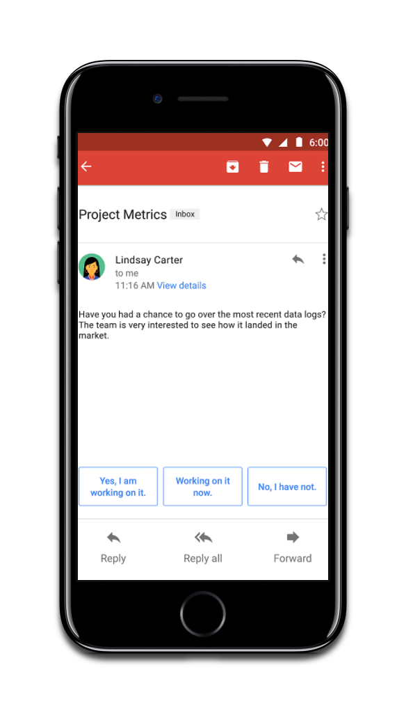 Email app developers can scan your Gmail, pictured here.