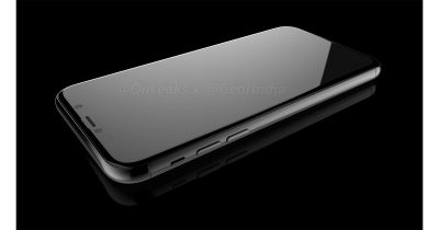 iPhone 8 render from @onleaks is likely accurate for this fall's release