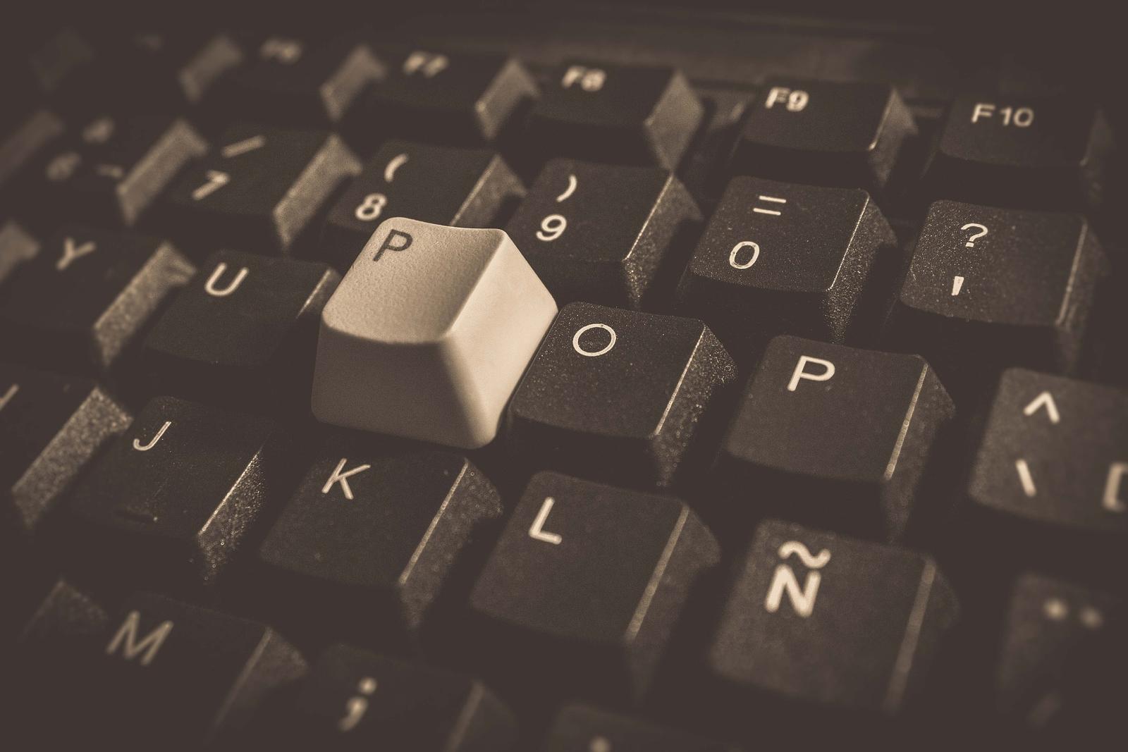 Stock image of keyboard. Conexant keylogger notwithstanding.