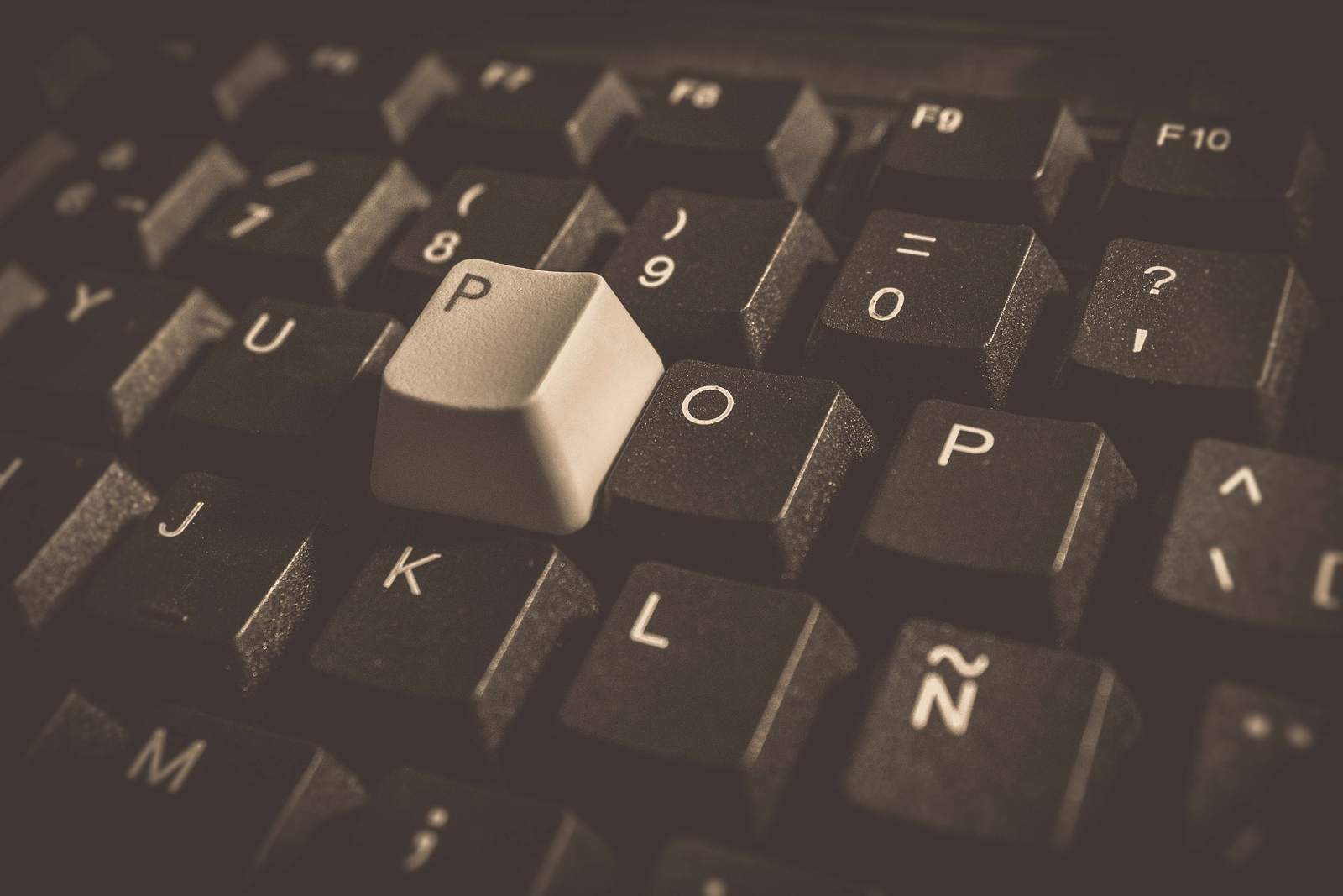 Stock image of keyboard. Conexant keylogger notwithstanding.