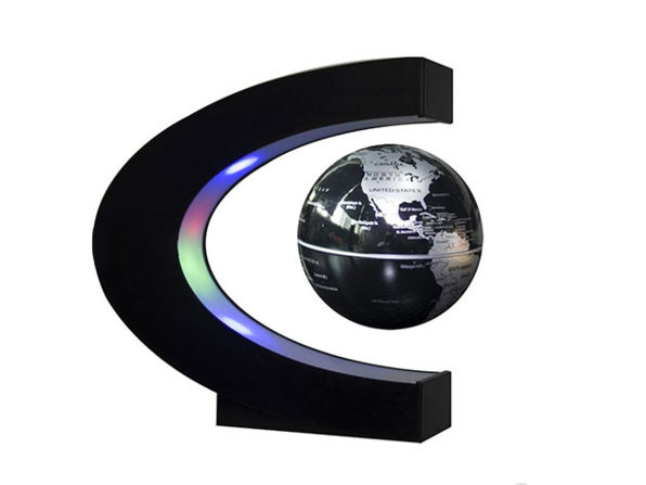 This Maglev Globe Floats: $39.99
