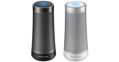 Invoke voice assistant appliance from Microsoft and Harmon Kardon uses Cortana