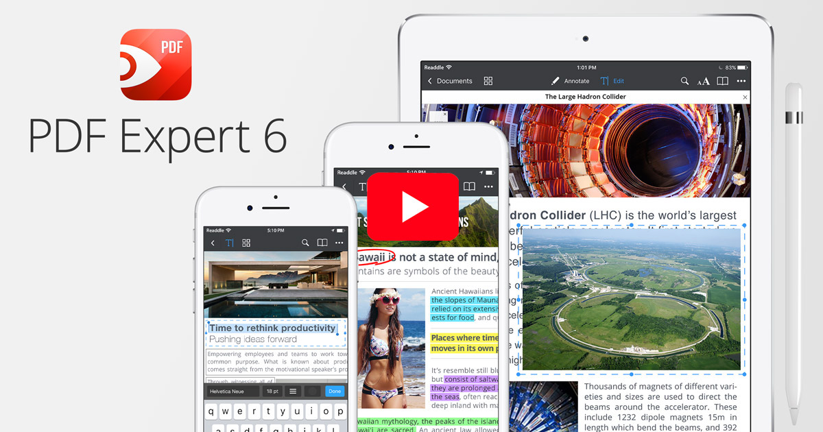 PDF Expert 6 on iPhone and iPad