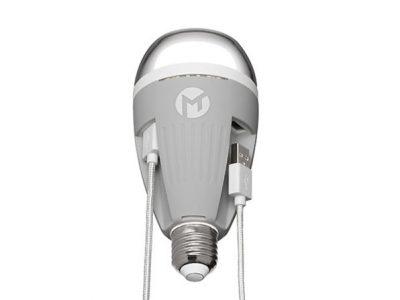 Powerbulb Charging Lightbulb