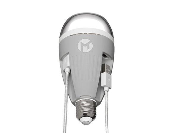 Powerbulb Charging Lightbulb: $29.99