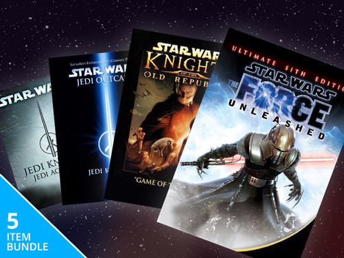 The Steam Powered Star Wars Gamer Bundle for Mac: $14.99