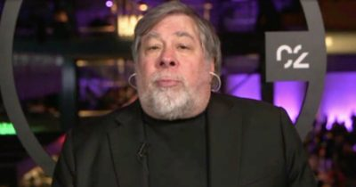 Steve Wozniak on Bloomberg