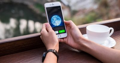 WeChat App on iPhone