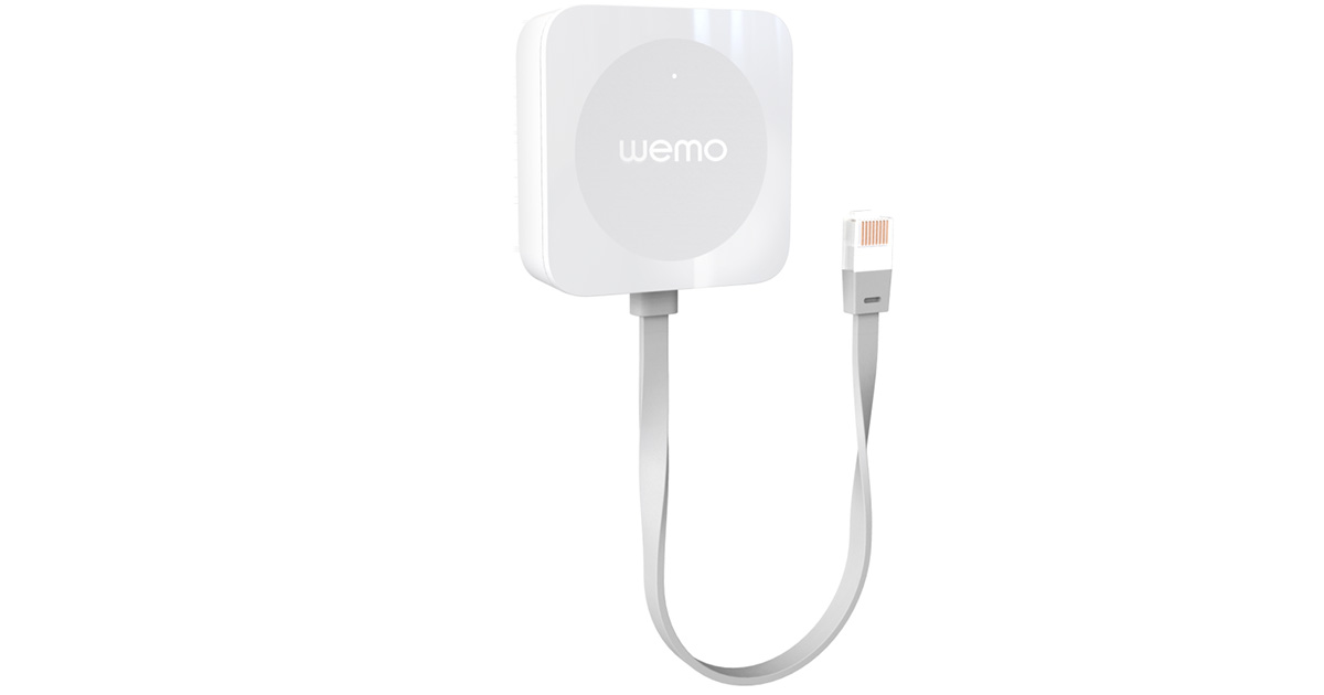 Belkin WeMo Bridge brings HomeKit support to WeMo devices