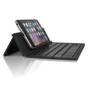 A Bluetooth keyboard will keep you more productive