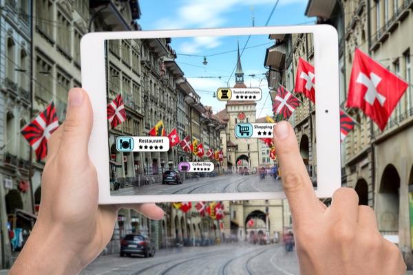 AR demo of sign translation.