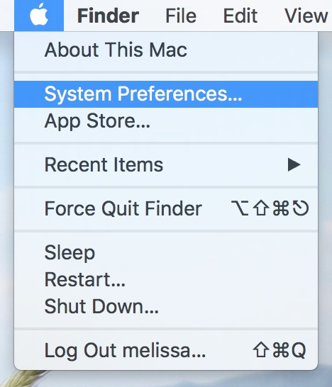 System Preferences from Apple Menu gets you to Time Machine where you can see your Time Capsule storage