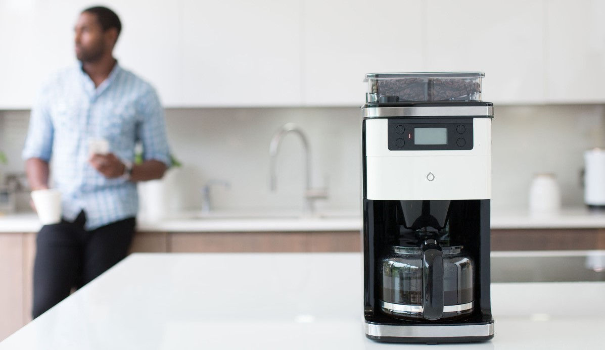 Smarter Coffee brews your coffee when you want, how you want it