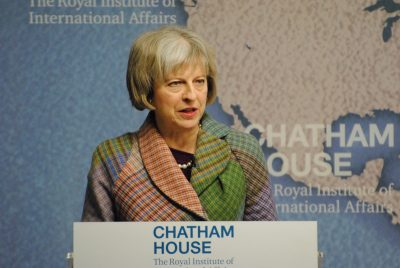 Prime Minister Theresa May has called for backdoors to encryption