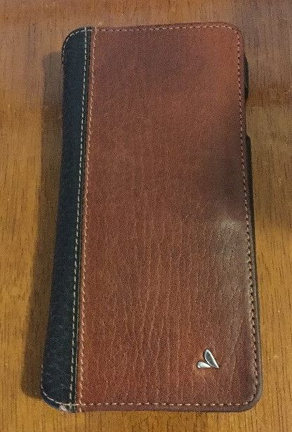 Vaja Wallet Agenda LP iPhone case Exterior Front