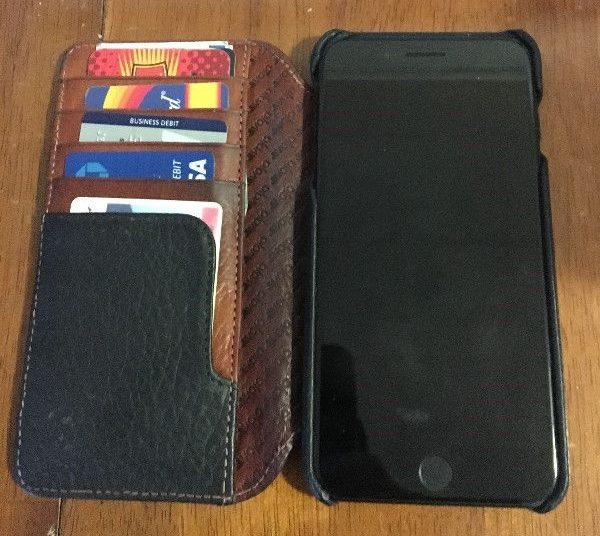 Vaja Wallet Agenda LP iPhone case Interior Small