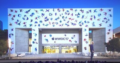 Tim Cook launches WWDC 2017.