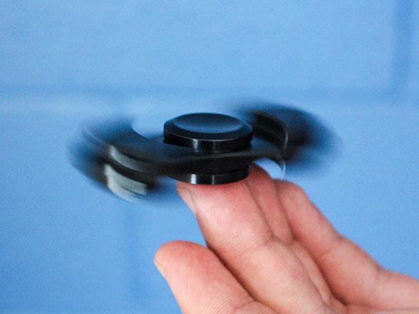Aluminum Fidget Spinner: $12.99