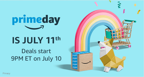 Amazon Prime Day 2017 Kicks Off Tuesday, July 11th