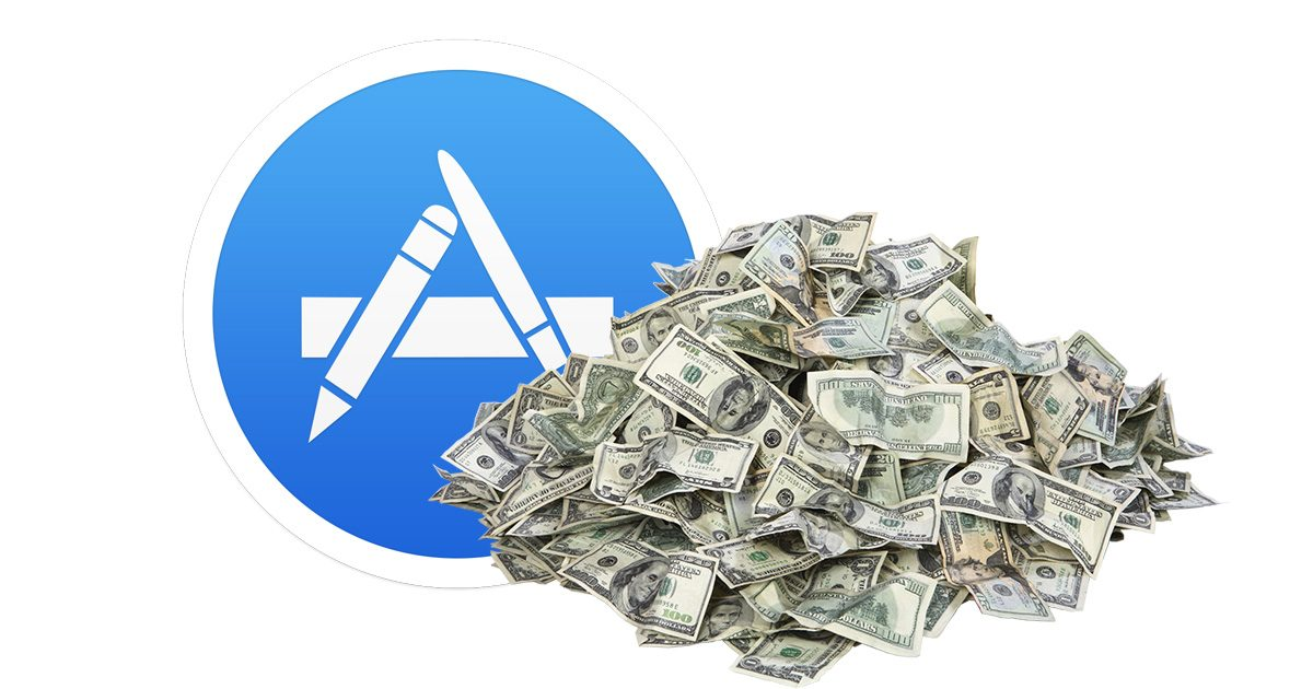 App Store and Pile of Cash