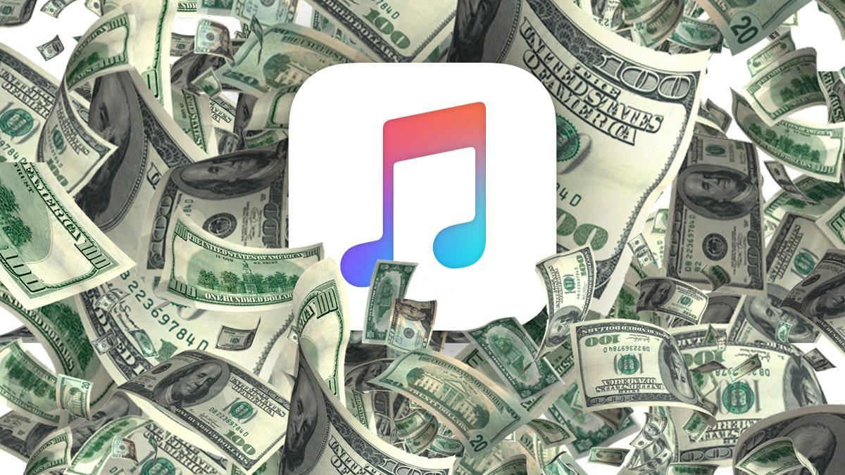 apple music money