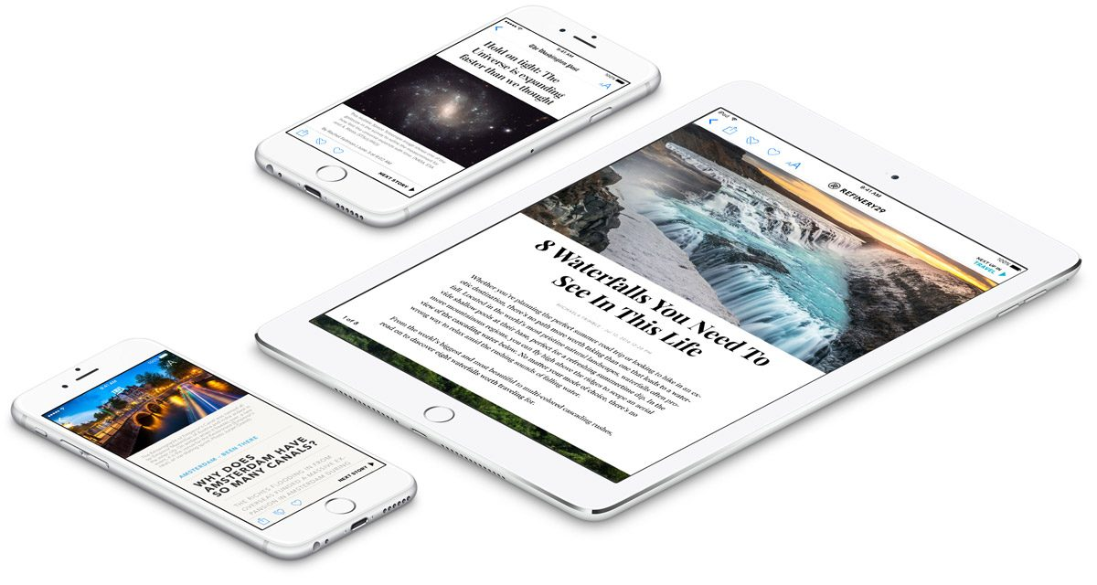 apple news devices
