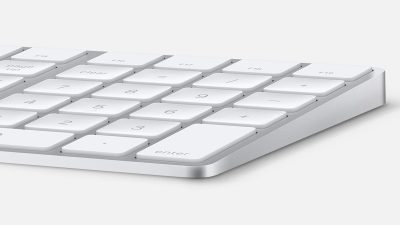 apple numeric keypad