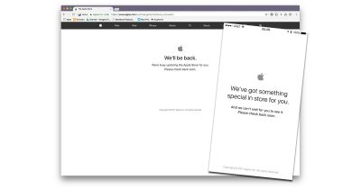 Apple's web store offline for WWDC 2017 announcements