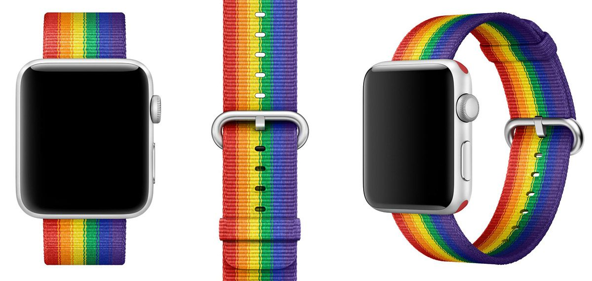 apple watch pride band