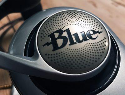 Blue Microphones logo on Ella