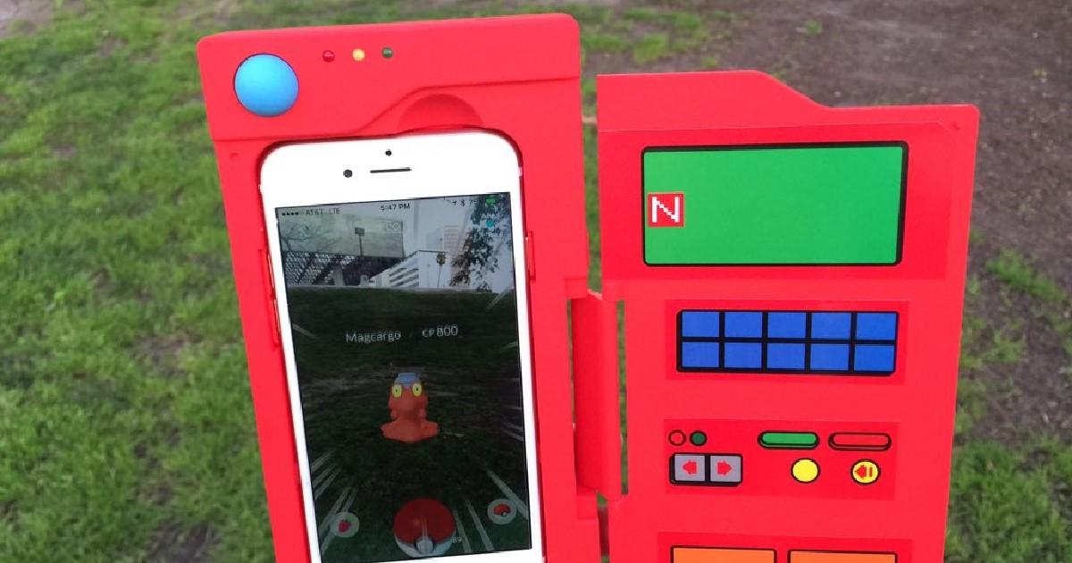 Pokémon Go smartphone battery case - Chargemander 2.0