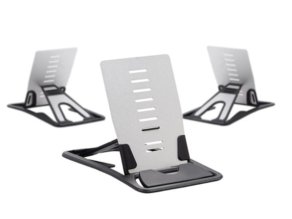 Credit Card Sized Smartphone and Tablet Stand 3-Pack: $19.99