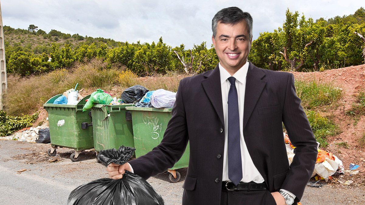 eddy cue take out trash