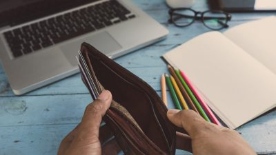 empty wallet mac