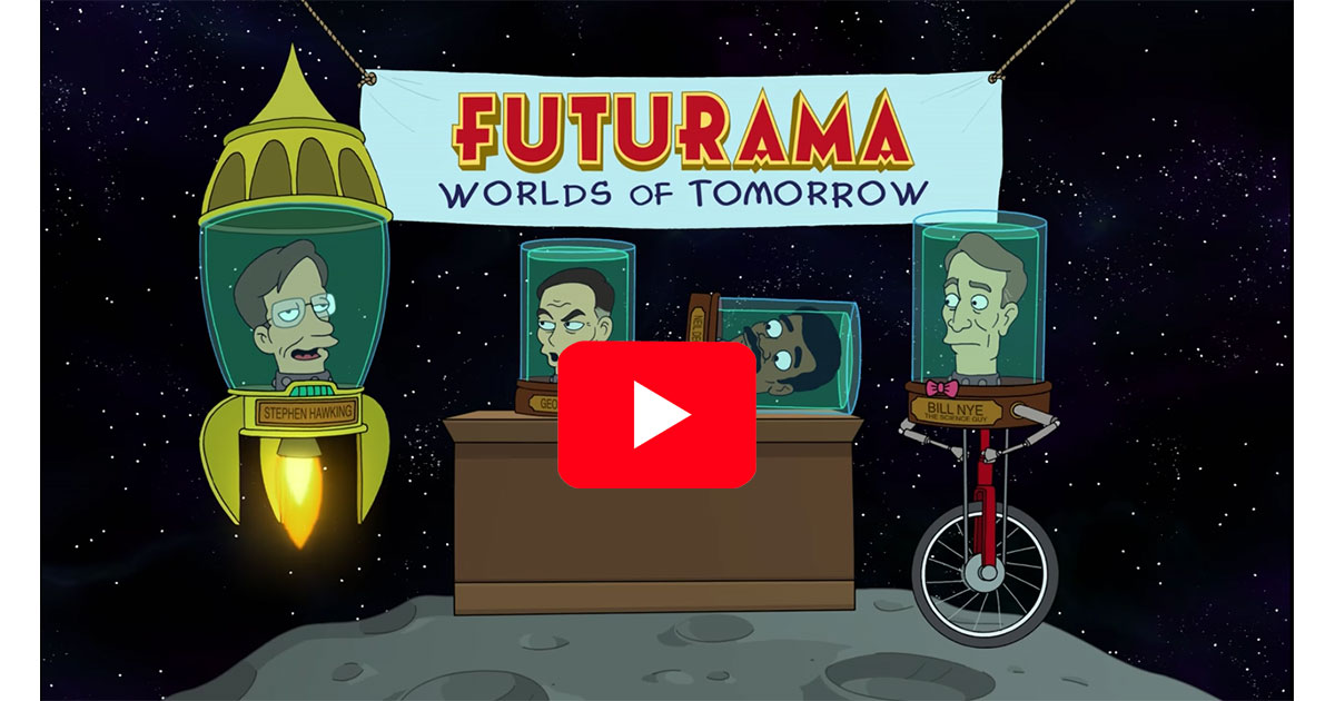 Futurama: Worlds of Tomorrow coming on June 29th