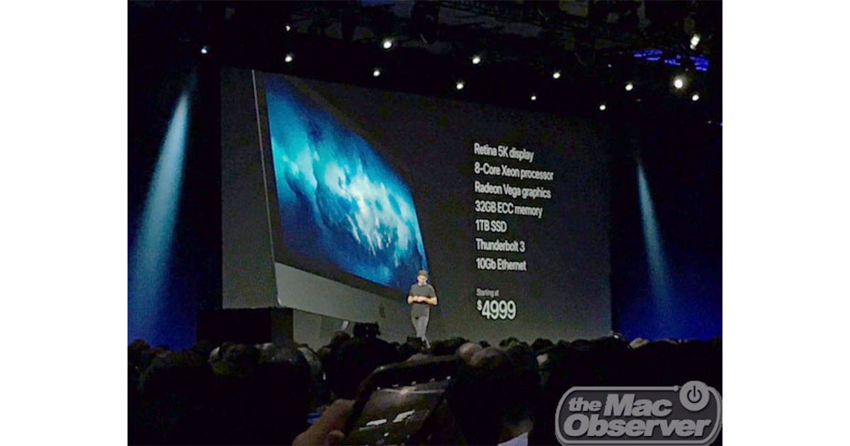 iMac Pro teased at Worldwide Developer Conference 2017 with Intel Xeon processors and 128 GB RAM