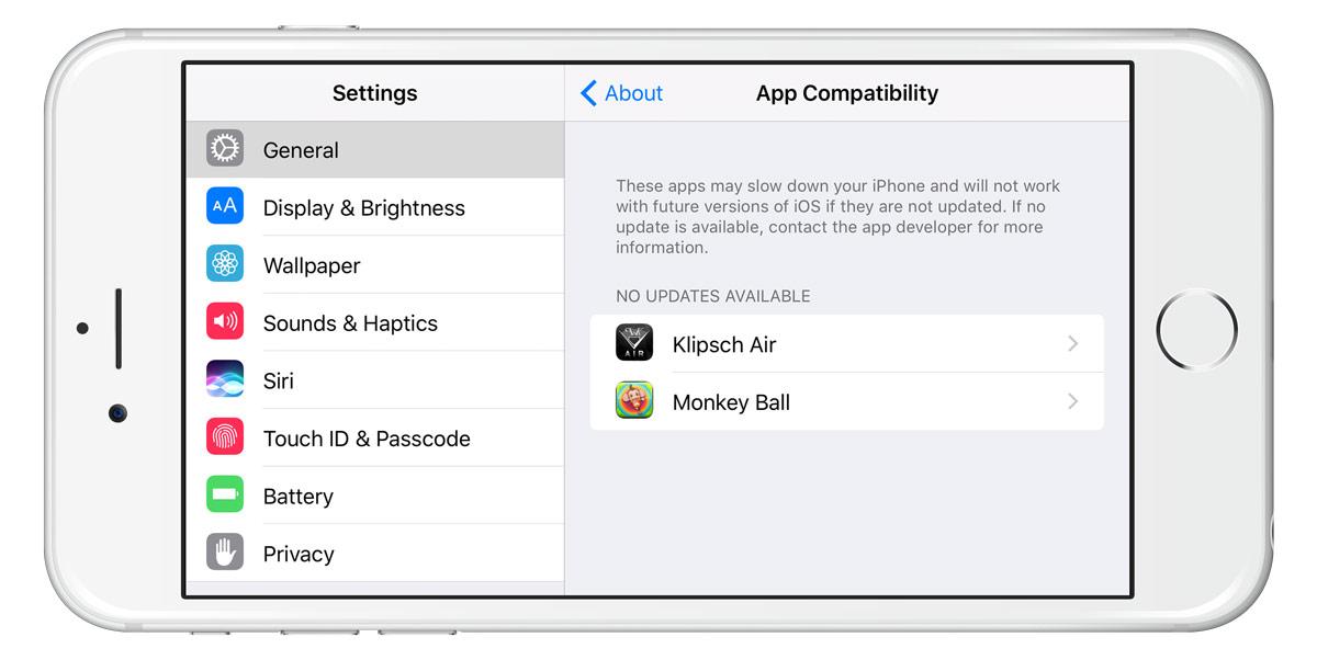 ios 11 32 bit app compatibility