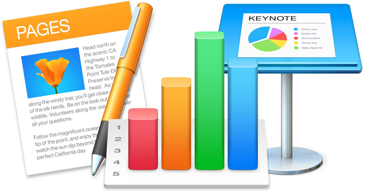 Mac iWork apps updated