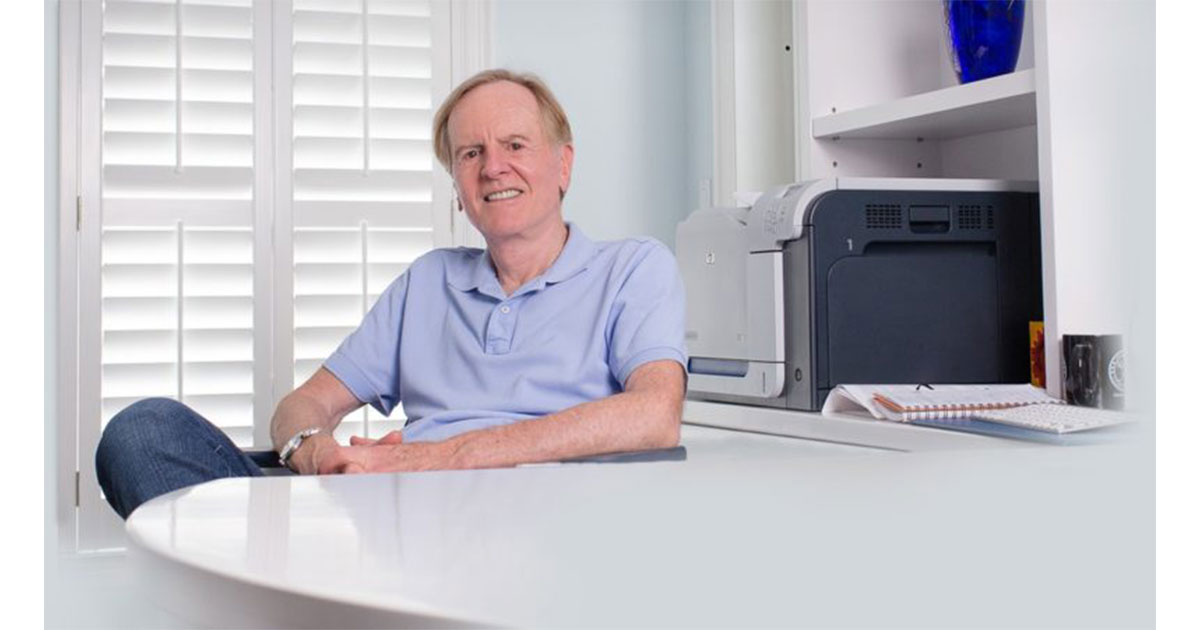 """John Sculley interviewed by Bob """"Dr. Mac"""" LeVitus"""