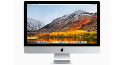 macOS High Sierra on iMac