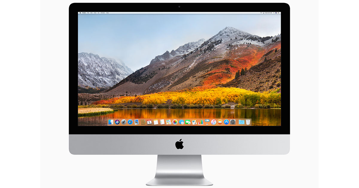 macOS High Sierra is compatible with the same Macs that run macOS Sierra