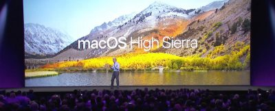 Craig Federighi demos macOS High Sierra at WWDC