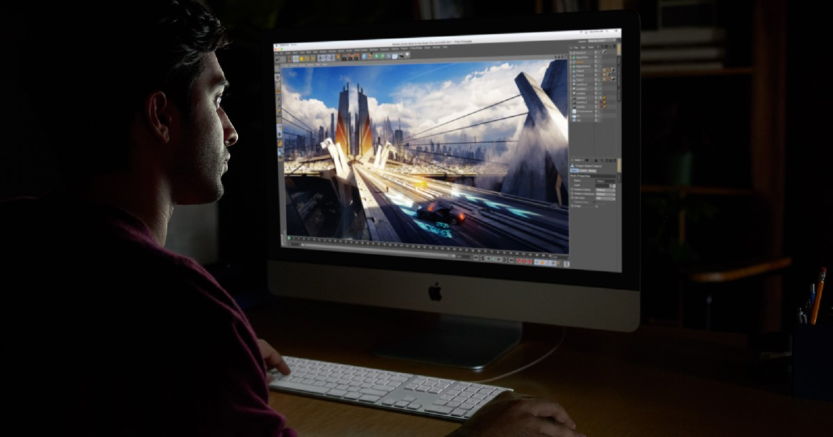 There is no iMac Pro Apple tax