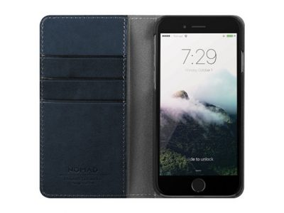 Nomad Horween Leather iPhone Folio Wallet Case